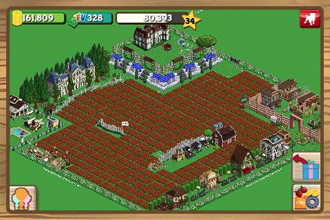Aplicación de Farmville para el iPhone, iPod Touch y iPad disponible en itunes store