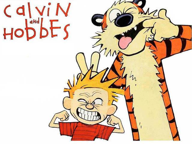 Calvin y Hobbes: Hace 25 años que se publico su primera tira cómica