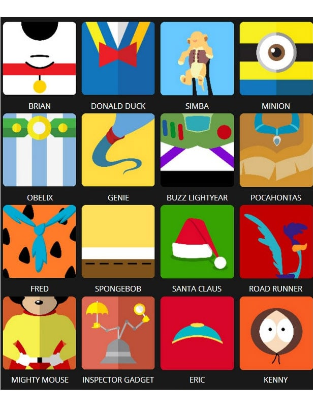 Icon Pop Quiz Answers Character Level 3