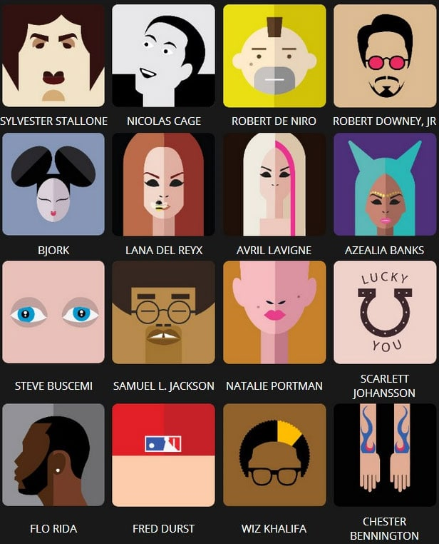 Icon Pop Quiz Answers Famous People Level 6