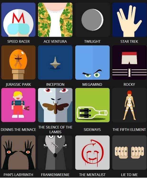 Icon Pop Quiz Answers Tv&Film Level 5