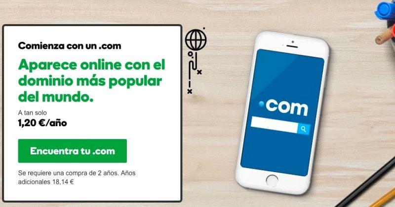 ¿Cuál es el mejor sitio para comprar y registrar dominios online? Godaddy