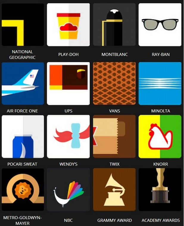 Icon Pop Brands Quiz Answers Level 3 iii