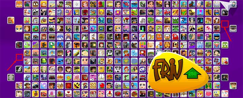 Cómo encontrar los juegos ocultos de Friv