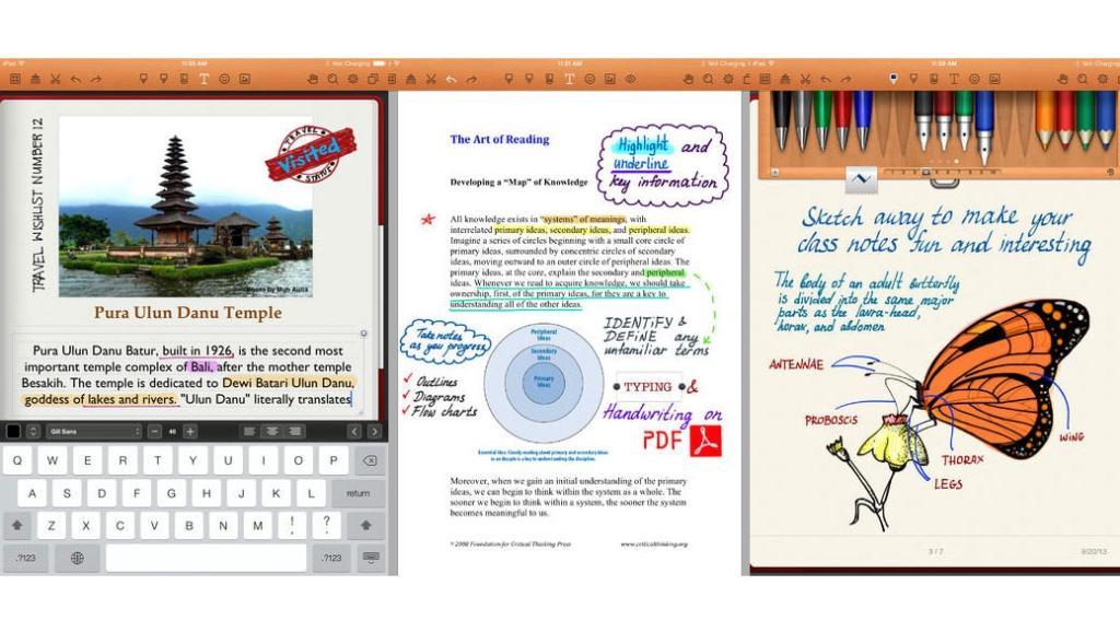 NoteShelf, la aplicación perfecta para convertir tu iPad en un bloc de notas
