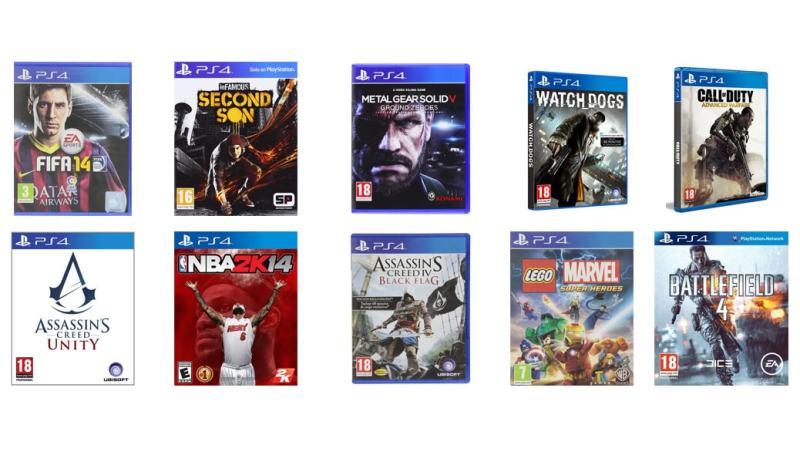 Los 10 mejores juegos para PS4 en 2014