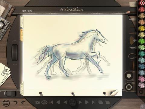 animation desk app