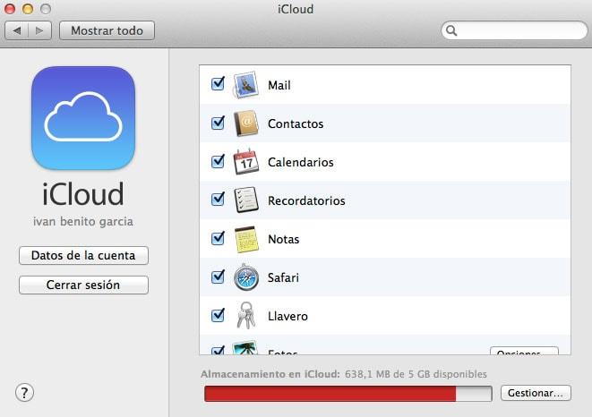 Cómo liberar espacio de almacenamiento en iCloud