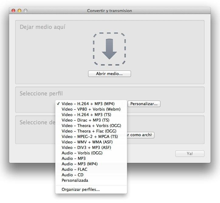 Cómo cambiar facilmente de formato archivos de video y audio con VLC