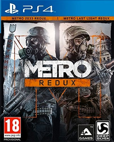 juego ps4 Metro: Redux