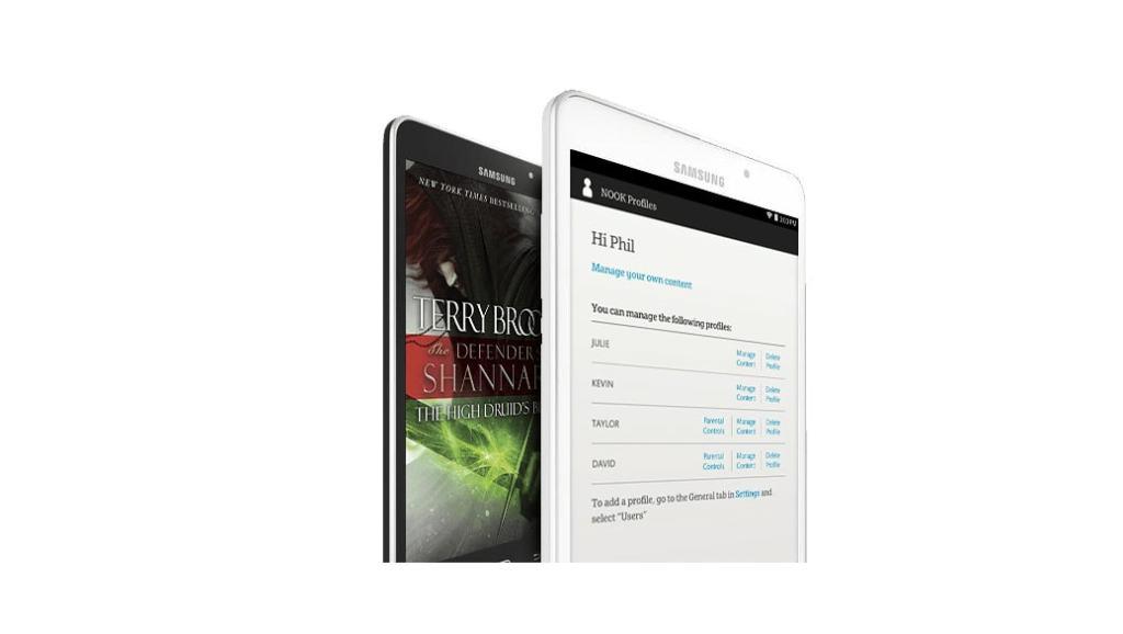 Galaxy Tab 4 Nook: mitad tablet, mitad eReader