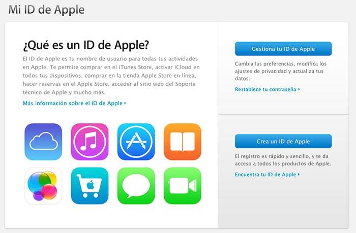 Asegurar cuenta Apple