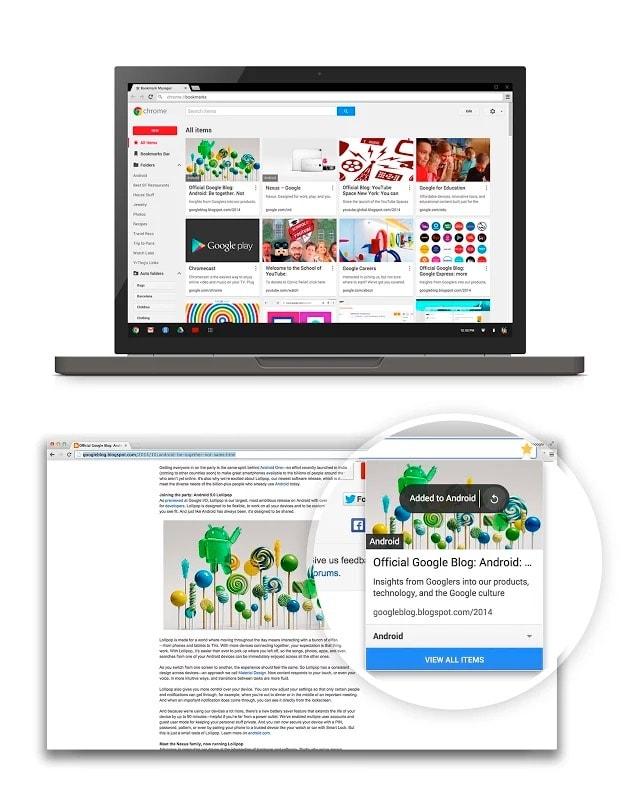 Cómo organizar de manera inteligente tus marcadores de Google Chrome