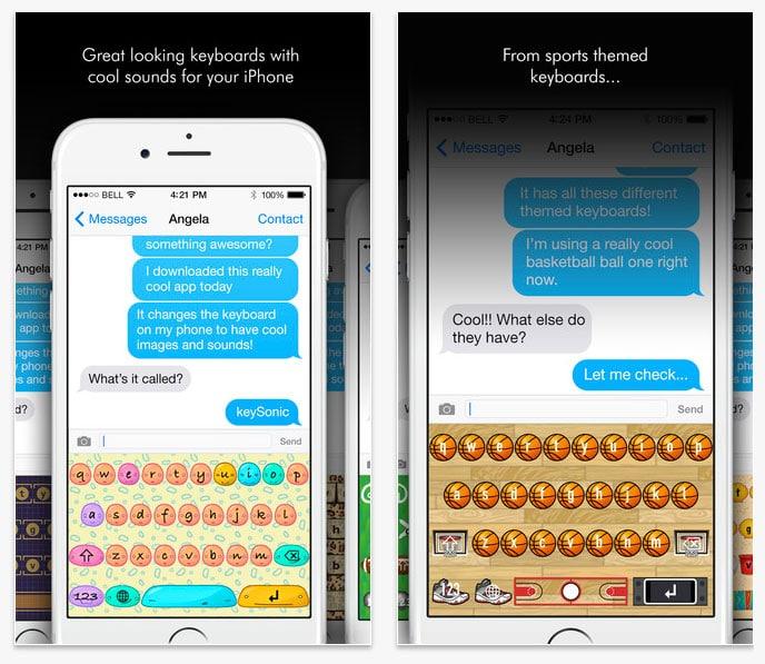Keysonic – el teclado para iOS que amaras y que hará que todo el mundo de tu alrededor te odie