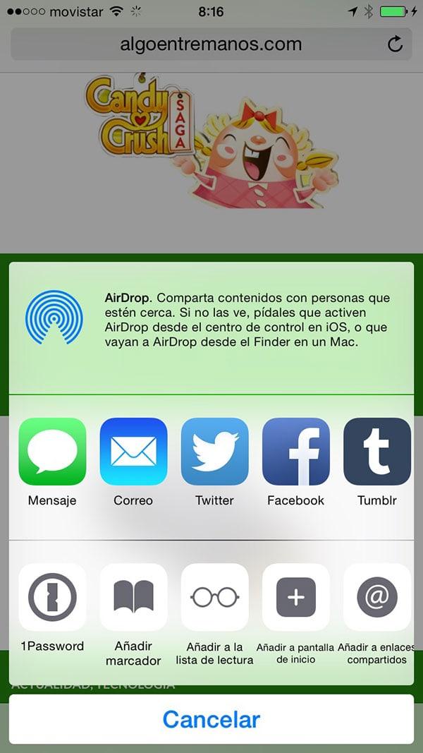 Gestión de contraseñas en iOS 8: ya podemos usar 1Password o LastPass en Safari