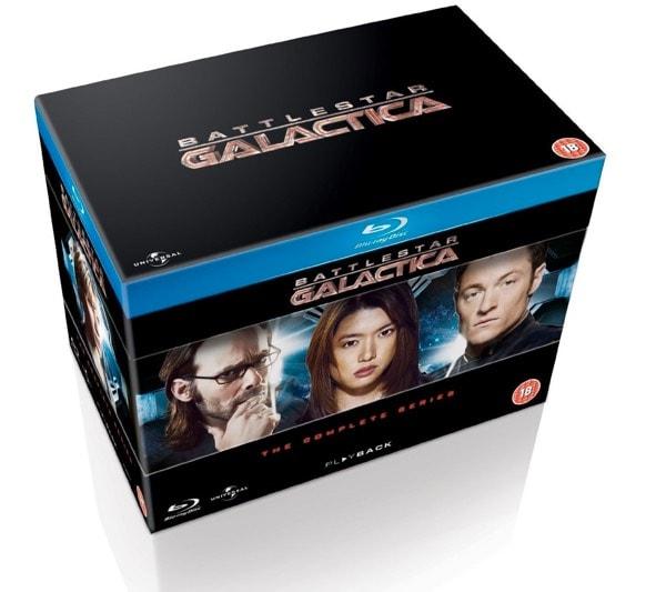 Battlestar Galactica en Blu-Ray