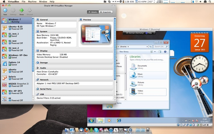 Virtualbox Mac