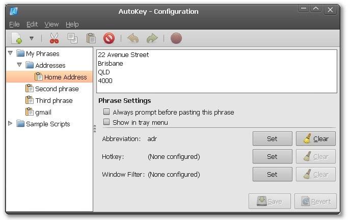 autokey linux