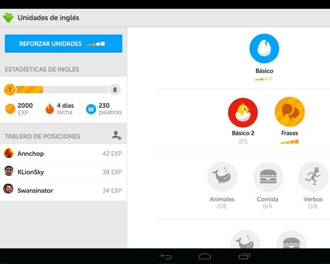 duolingo app android