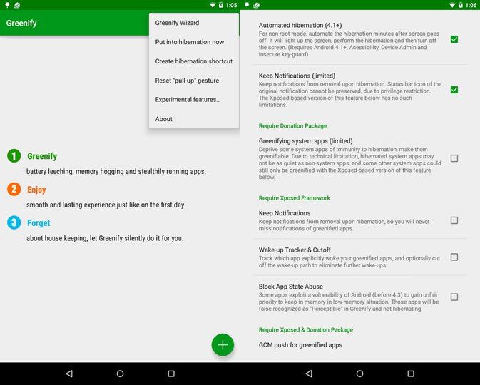 greenify app android
