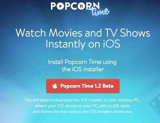 Popcorn Time llega iOS: streaming de películas y series totalmente gratis vía torrent