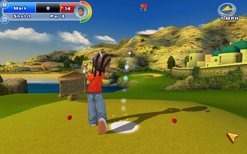 Los 3 mejores juegos de deportes que vas a encontrar en la Mac App Store: let's golf 2