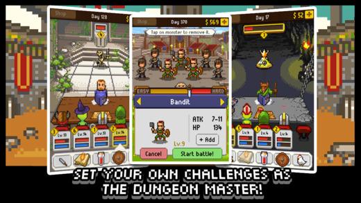 Los 7 mejores juegos de aventuras para el iPhone (2015): Knights of Pen and Paper
