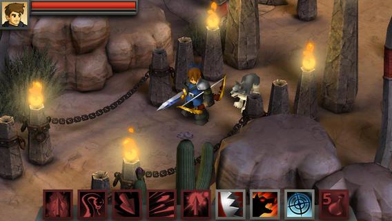 Los 10 mejores juegos de rol para el iPhone (2015): battle heart