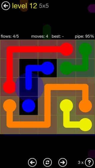 Los 10 mejores juegos de puzzles para el iPhone: flow free