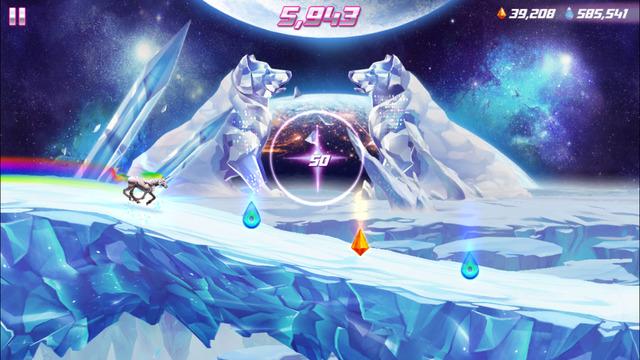 Los 10 mejores juegos de plataformas para iPhone (2015): roboto unicorn attack