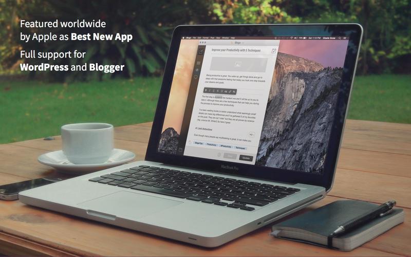 Blogo, el mejor programa de escritorio para gestionar tu blog WordPress (Mac)