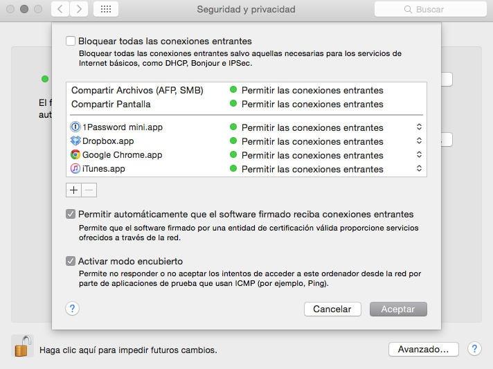 ¿Cómo activamos el Firewall de Mac?