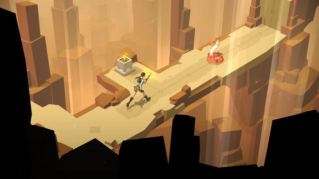 Lara Croft Go - Juego para iPhone, iPad - Opinión