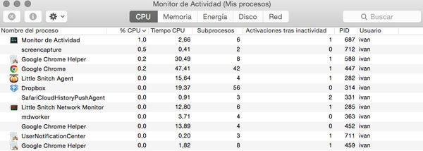 Monitoriza tu CPU y RAM