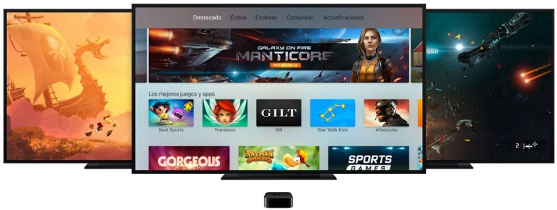 Los juegos y las aplicaciones más descargadas en el nuevo Apple TV