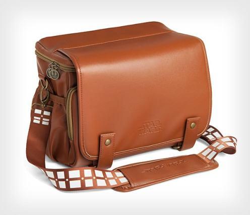 Bolsas para cámaras de Star Wars inspiradas en Darth Vader y Chewbacca.