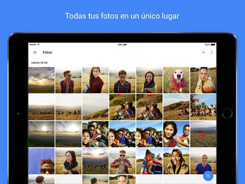 Google Fotos ios app