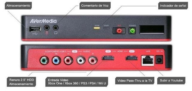 AVerMedia Game Capture HD II - Capturadora de vídeo rebajada de precio