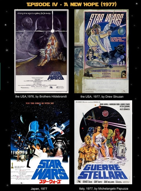 Los mejores posters de todas las películas de Star Wars