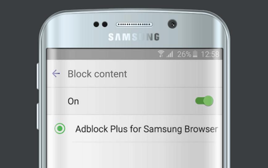 Cómo activar el bloqueo de anuncios en los nuevos Samsung Galaxy S7 y S7 edge
