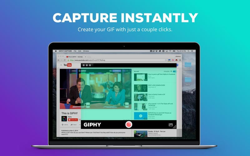 GIPHY CAPTURE. The GIF Maker