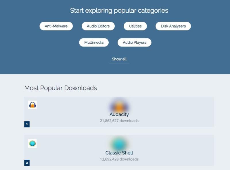 2 sitios de descargas de software gratuito que nunca han vendido a sus usuarios