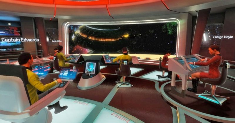 'Star Trek: Bridge Crew' - Juego Realidad Virtual