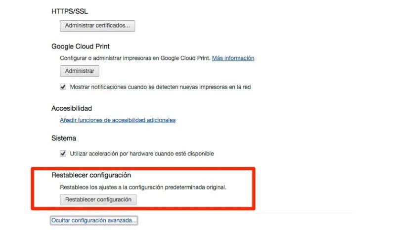 ¿Como podemos eliminar el Malware de Google Chrome?