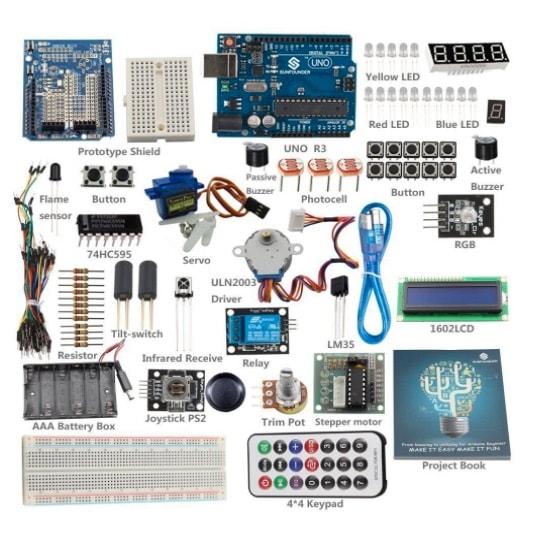SunFounder Starter Learning Kit para Arduino (Principiantes)