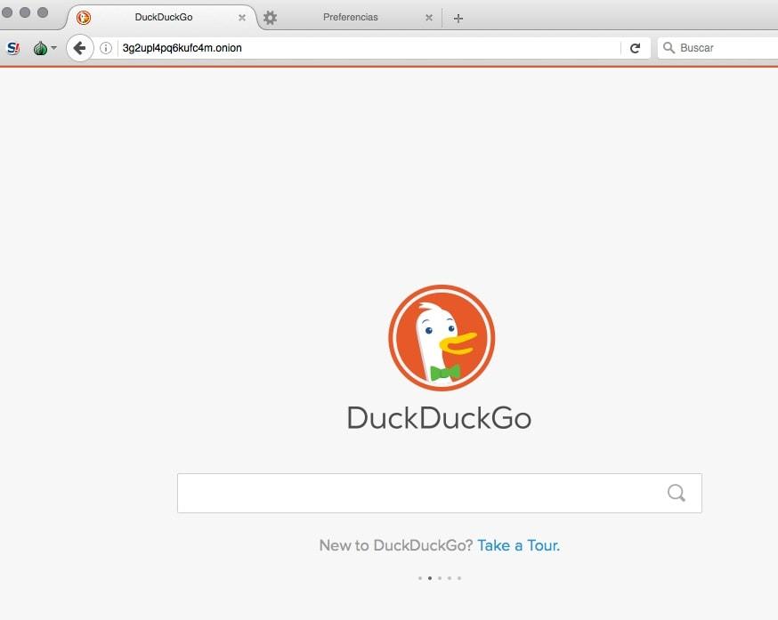 DuckDuckGO onion