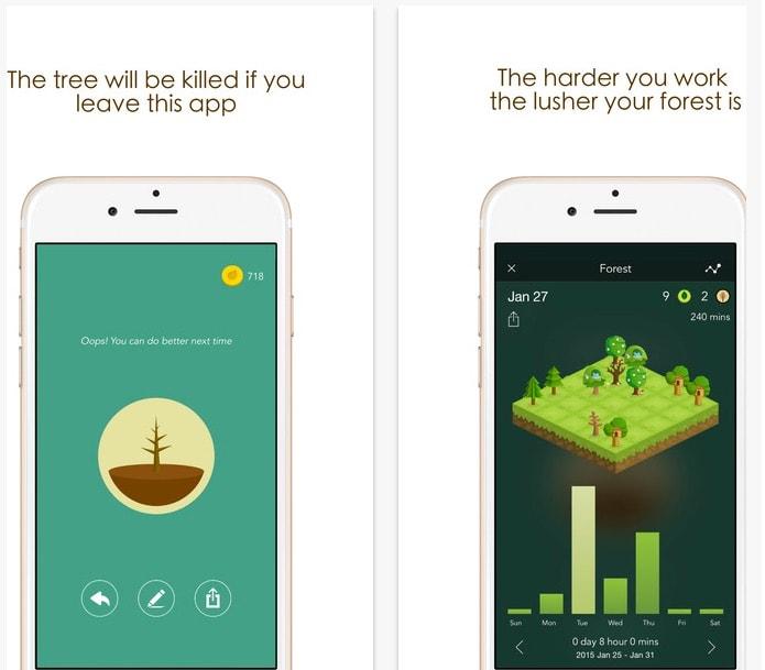 La app definitiva para concentrarte y terminar todo lo que empiezas: Forest: Stay focused, be present