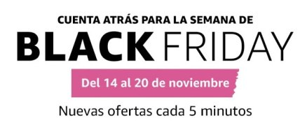 Amazon España: Cuenta atrás para la semana de Black Friday