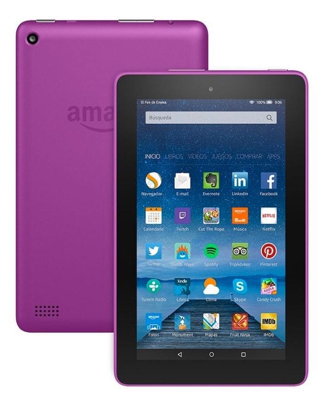 ¡Oferta! Tablet Fire de 7″ de Amazon por menos de 45 euros