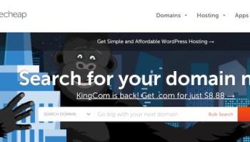 ¿Cuál es el mejor sitio para comprar y registrar dominios baratos online? Namecheap
